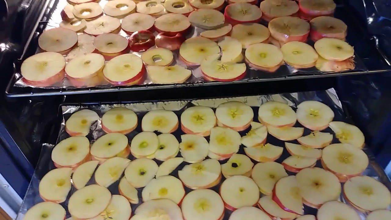 HOW TO DEHYDRATE APPLES IN THE OVEN NO DEHYDRATOR NEEDED