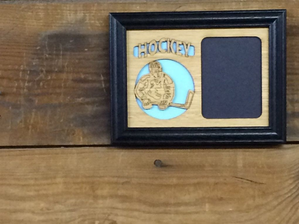 Hockey Picture Frame, Hockey Player Gift, Hockey Parent Gift for ...