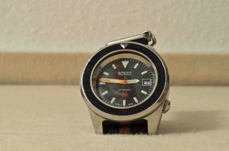 Watchtime Wednesday: the history of the Blancpain Fifty Fathoms - Monochrome-Watches