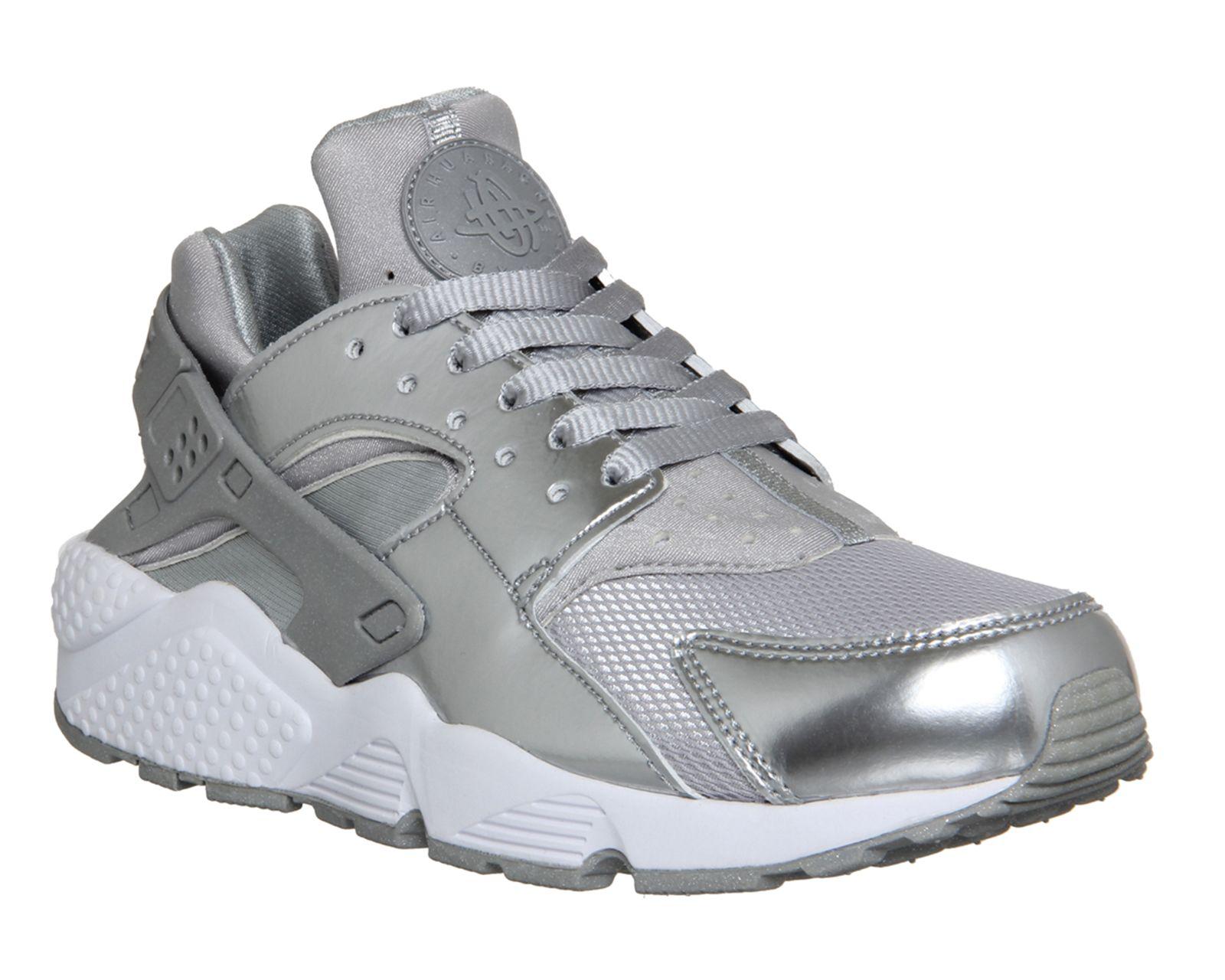 c757b2528534 Nike Air Huarache Metallic Silver - Unisex Sports