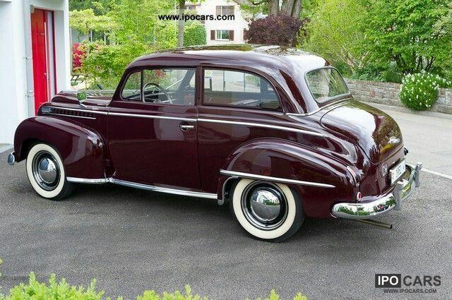 1951 thru 1953 opel olympia autos maravillosos. Black Bedroom Furniture Sets. Home Design Ideas
