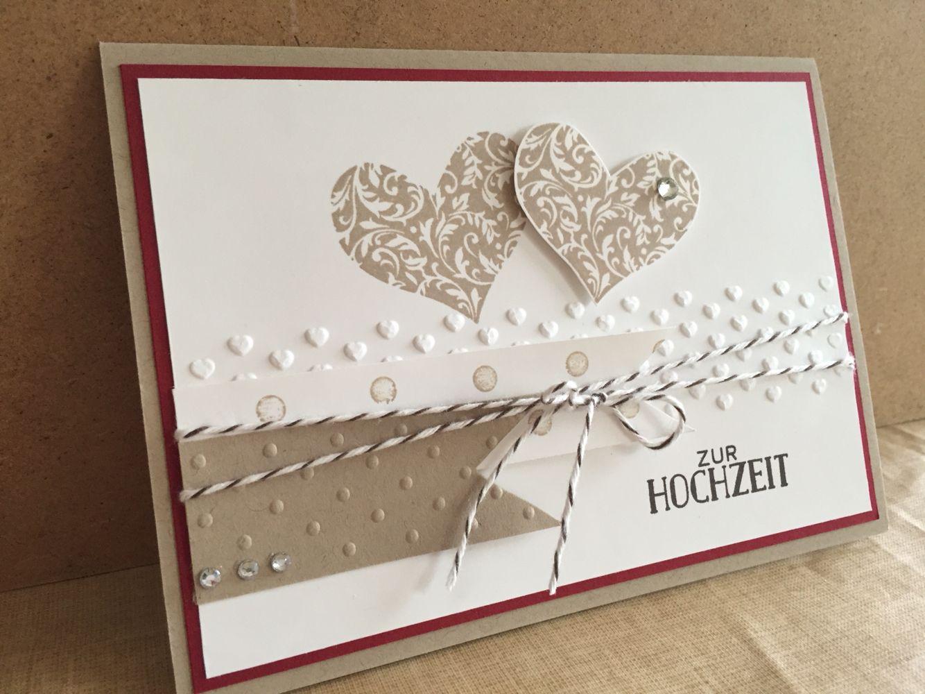 herzklopfen stampin up wedding cards wedding. Black Bedroom Furniture Sets. Home Design Ideas