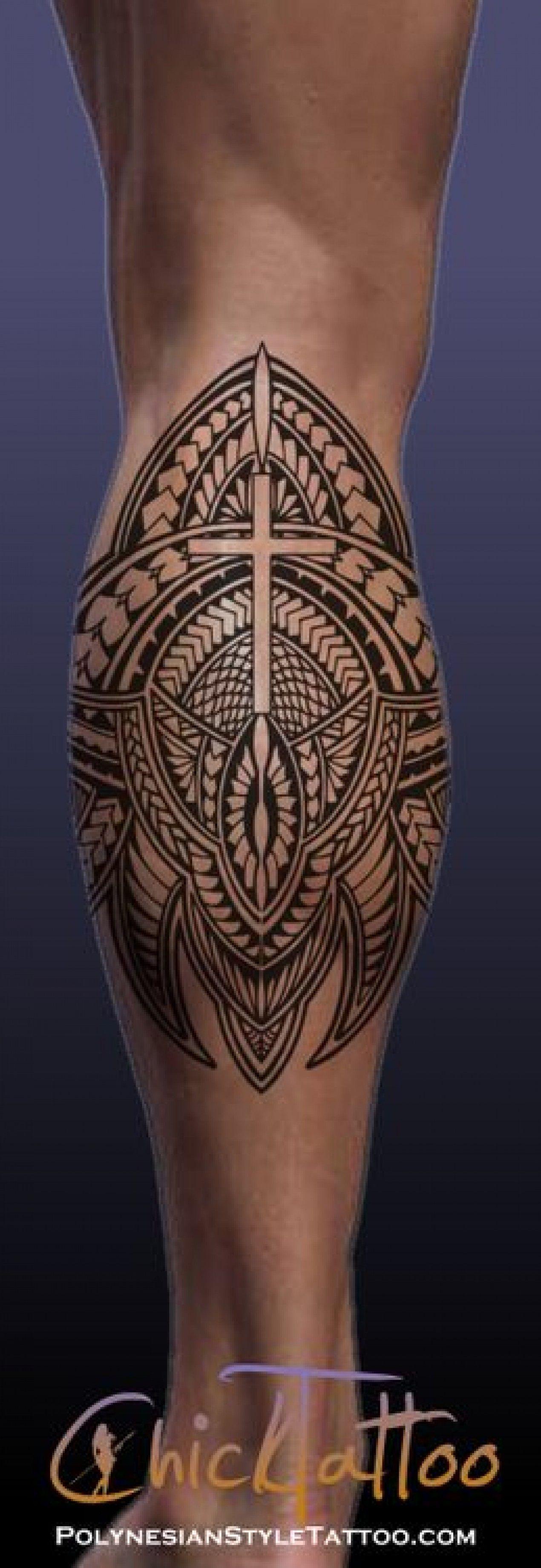 Photo de tatouage polyn sien mollet tatoo pinterest photo de tatouage tatouages - Tatouage mollet polynesien ...