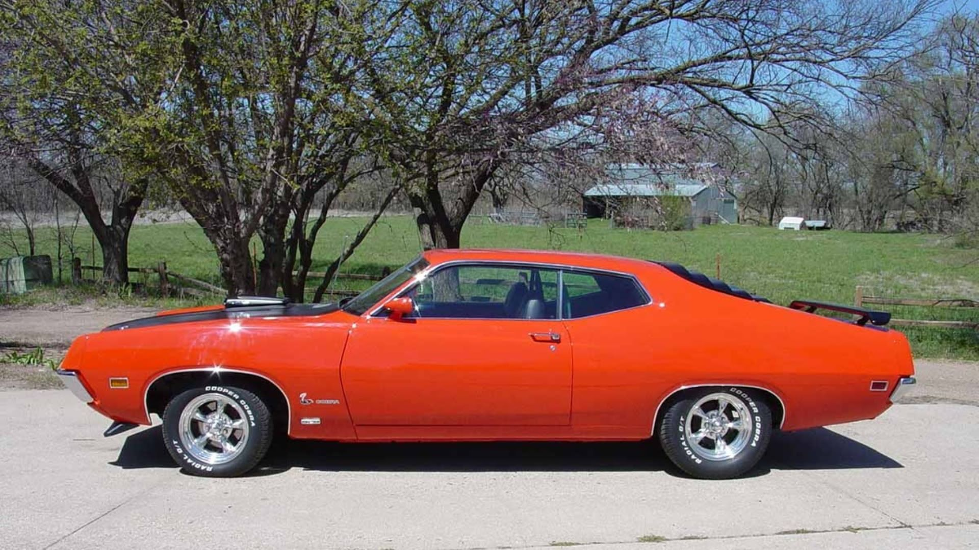 1970 Ford Torino 429 Cobra Jet Ford Torino Muscle Cars Hot Rods Cars Muscle