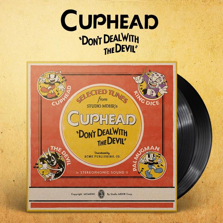 Cuphead 2xlp Vinyl Soundtrack In 2020 Soundtrack Studio Mdhr Solo Music