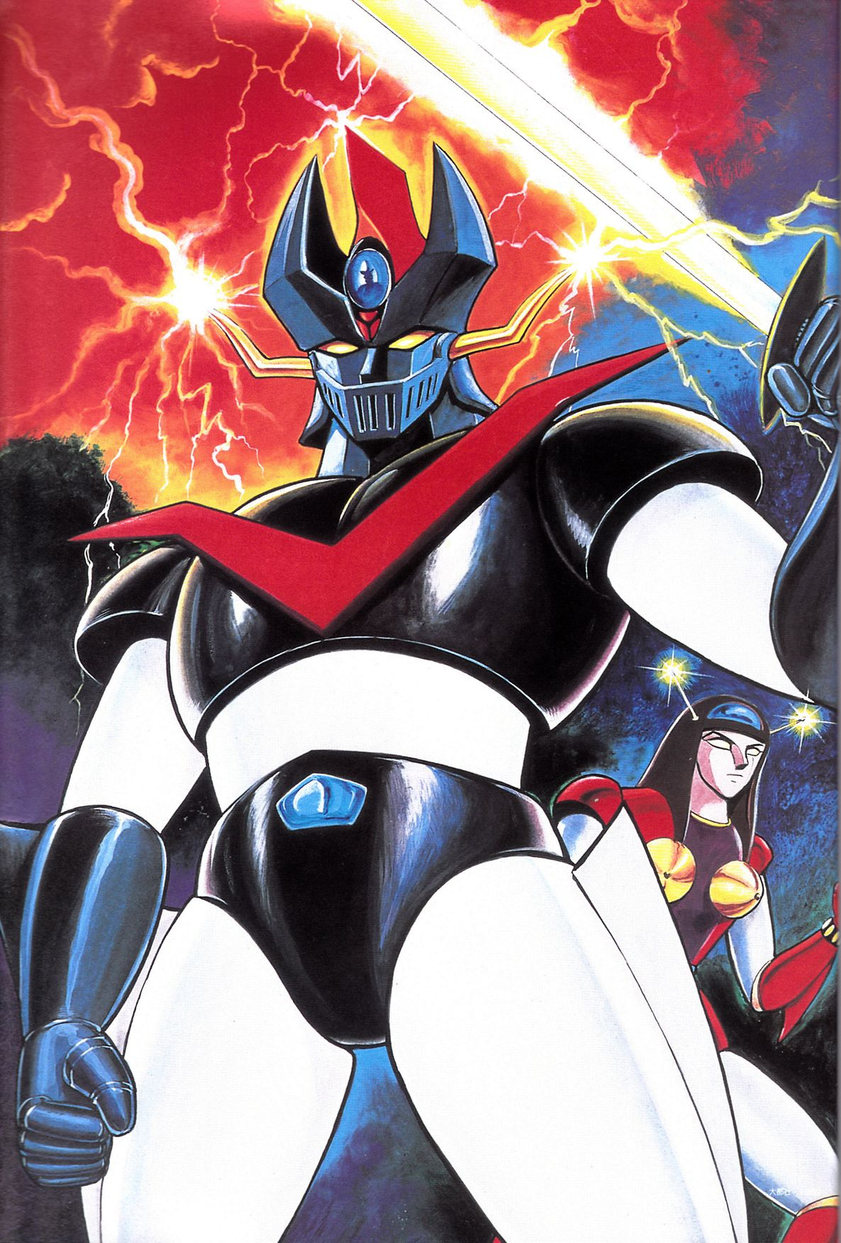 Great mazinger by go nagai robots cartoni animati fumetti manga