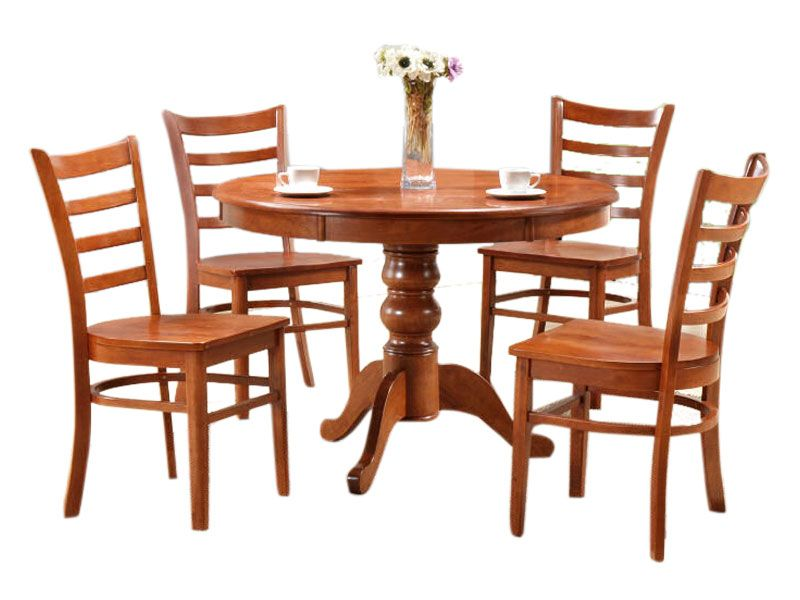 Dt Lydon Round Dining Table With 4 Chairs Round Dining Table