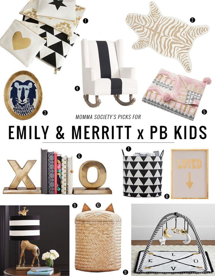 Emily Merritt Nursery Collection For Pottery Barn Kids Momma Society Pottery Barn Nursery Pottery Barn Kids Boy Girl Nursery