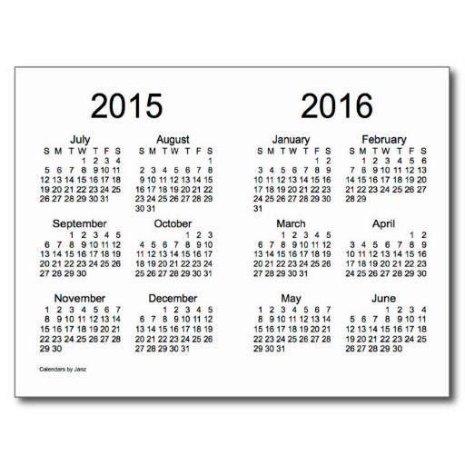 2015 2016 Calendar This Calendar Portal Provides You Free