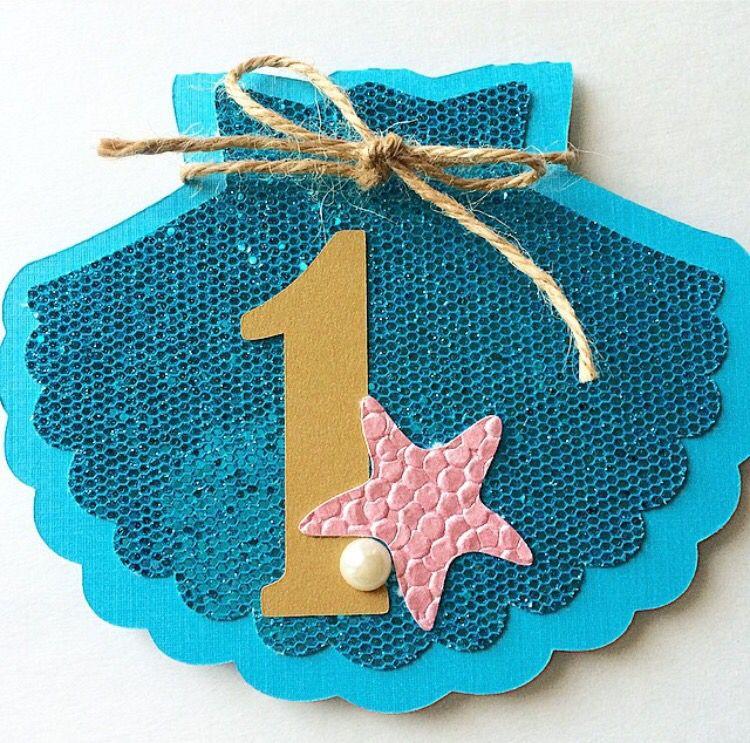 Einladung Kindergeburtstag · Unterwasserwelt · Schulanfang · Muschel ·  Karten Basteln · Cute Mermaid Theme Party?
