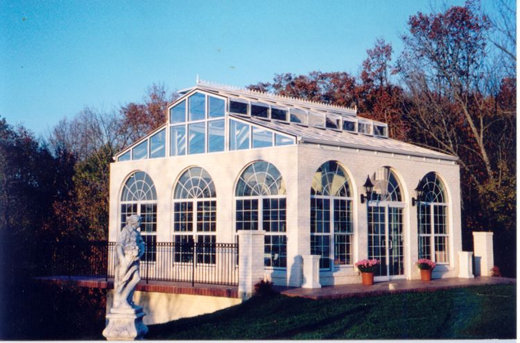 Residential Greenhouses Florian Greenhouse 1 800 Florian Sunrooms Greenhouses Greenhouse House Styles