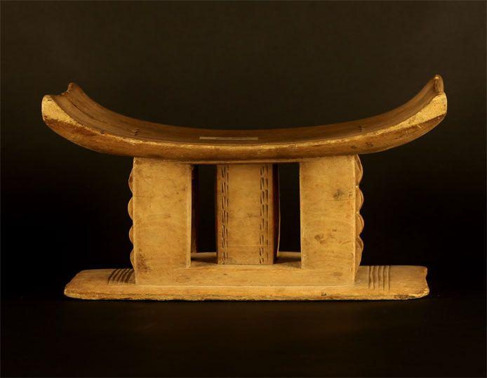 Wooden Asante/Ashanti Stool #119 | Ashanti/Asante Stools | Stools / Chairs — Deco Art Africa - Decorative African Art - Ethnic Tribal Art - ...