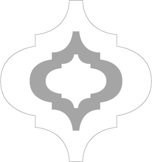 image relating to Free Moroccan Stencils Printable referred to as Do it yourself Moroccan Wall Stencil (*squeal!) Portray Laminate