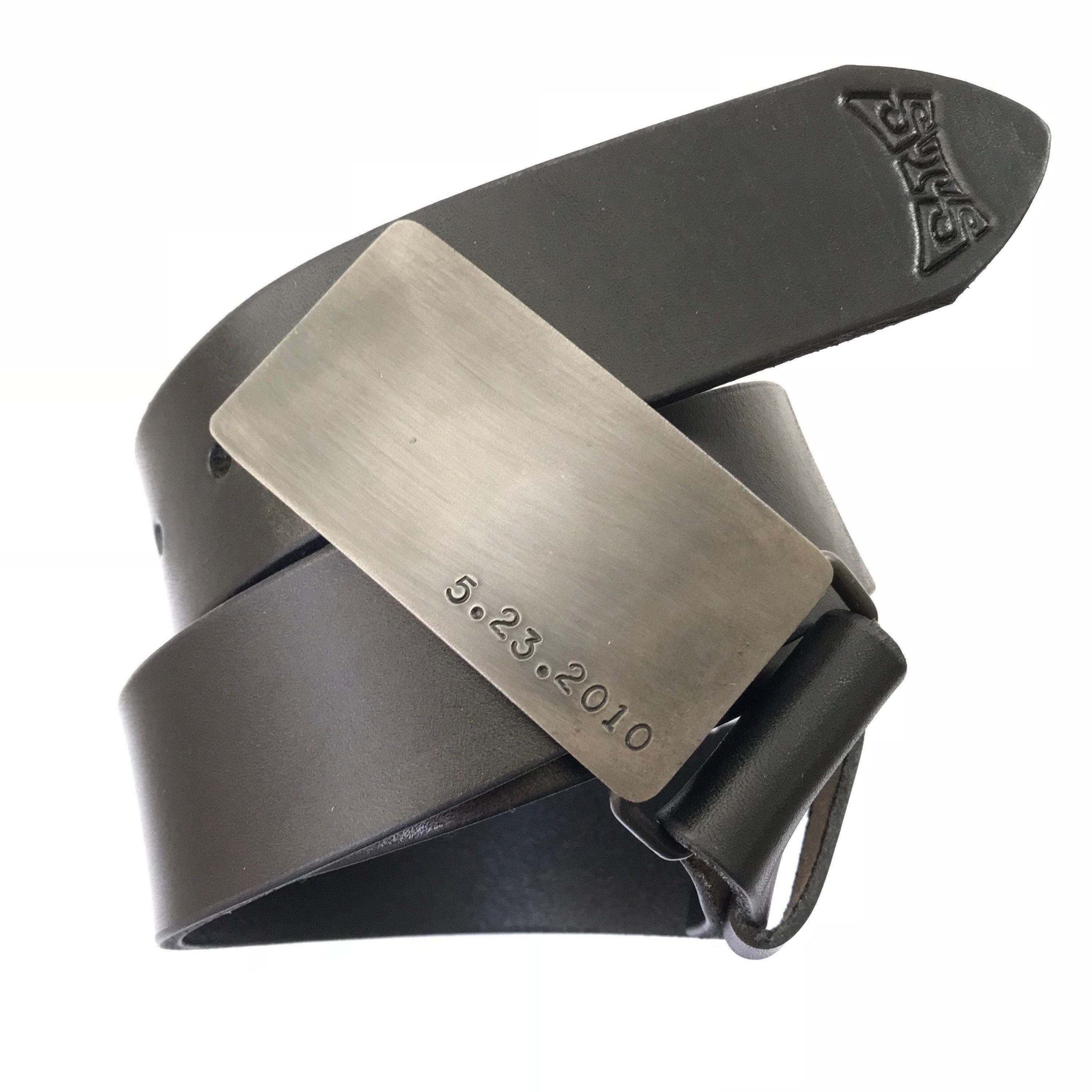 Sixth Wedding Anniversary Gift Ideas For Him: 6th Iron Wedding Anniversary Gift For Him, Steel Belt