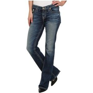 Big Star Maddie Boot Mid Rise Curvy Fit in 16 Year Bella Women's Jeans, Blue