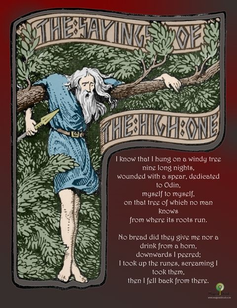 the havamal sayings of the high one