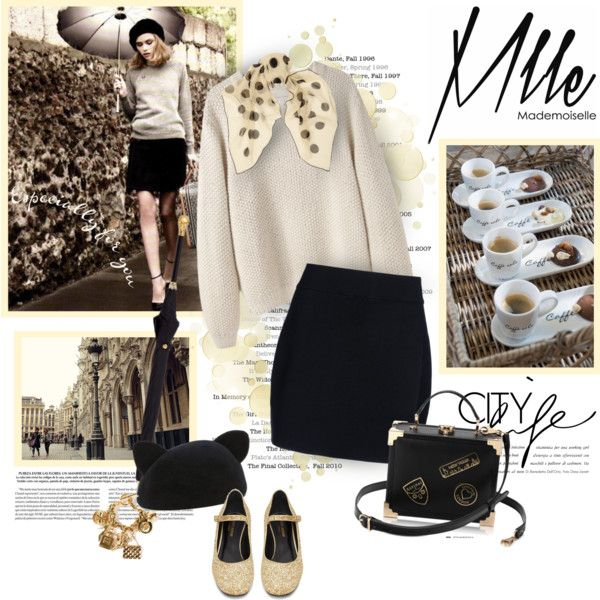 A fashion look from August 2014 featuring La Garçonne Moderne sweaters, A.L.C. mini skirts and Mlle Mademoiselle skirts. Browse and shop related looks.