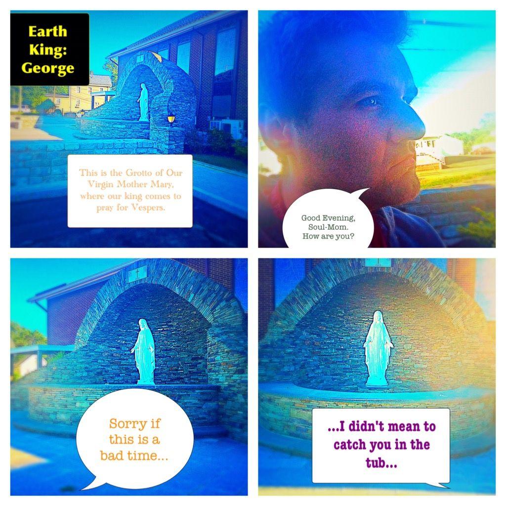 Vespers #EarthKingGeorge #EKg #George #pray #prayer #prayers #mary ...