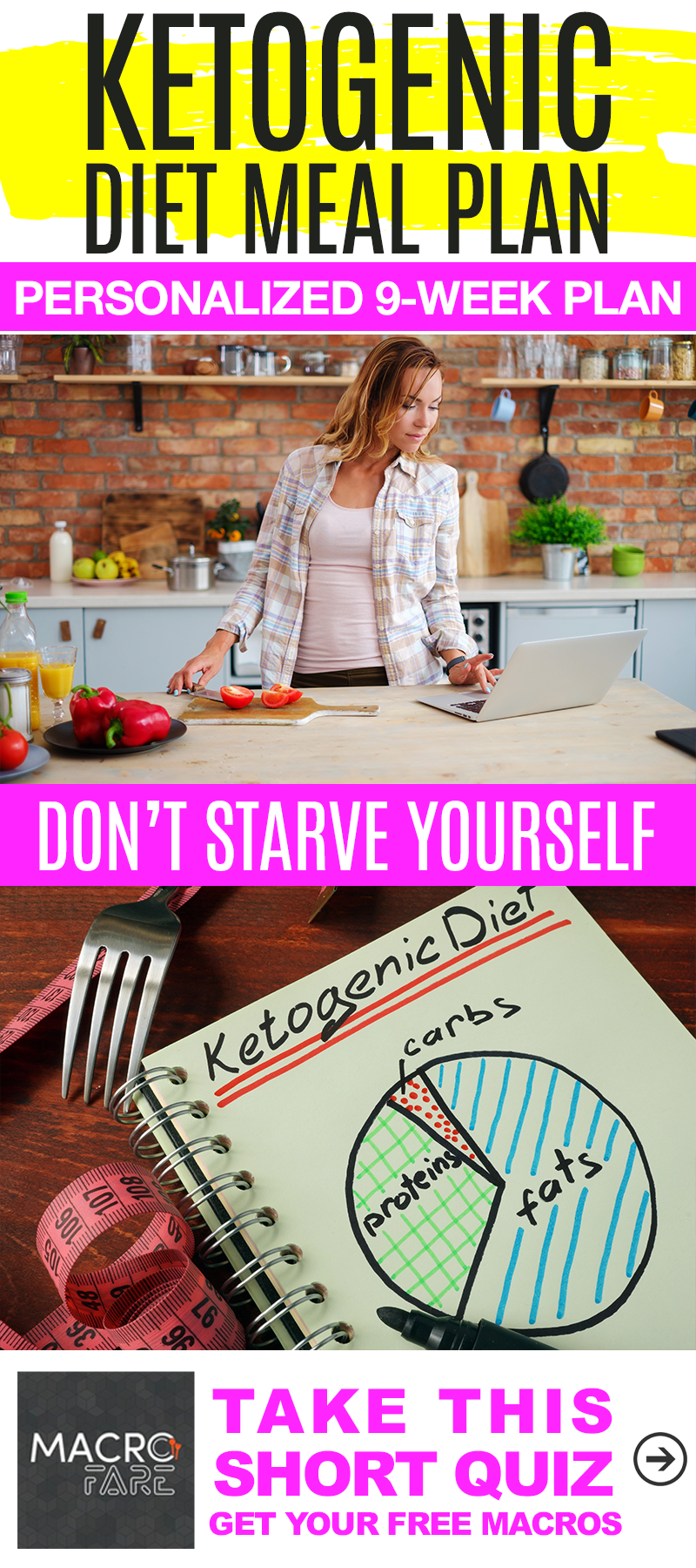 9 Week Personalized Ketogenic Diet Meal Plan With Full Recipes