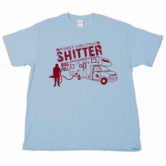 abf9fc8fd6f Randy Quaid Cousin Eddie Shitter Was Full by shirtquarters on Etsy