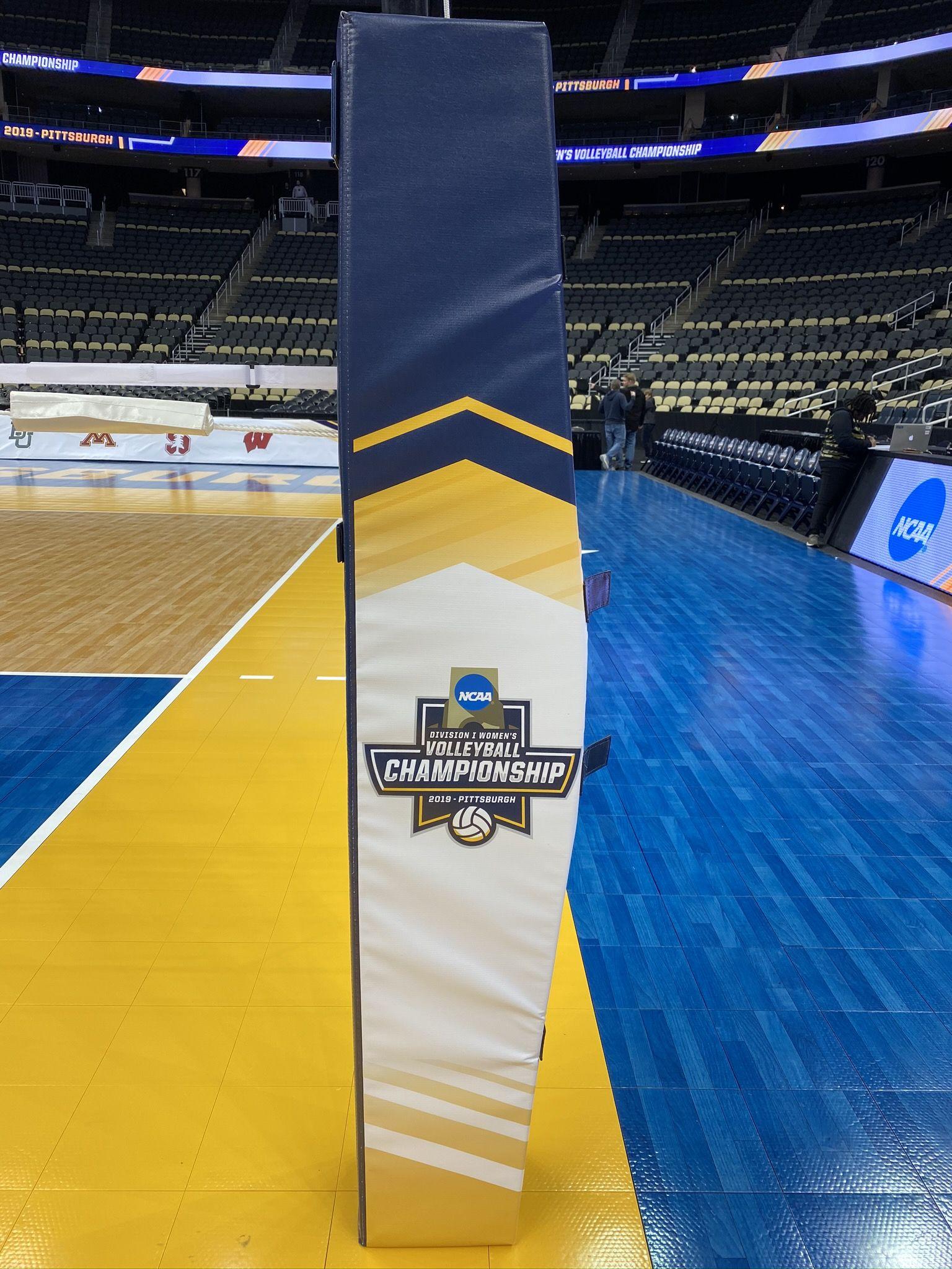 2019 Ncaa Volleyball Custom Pads Volleyball Ncaa Volleyball Net