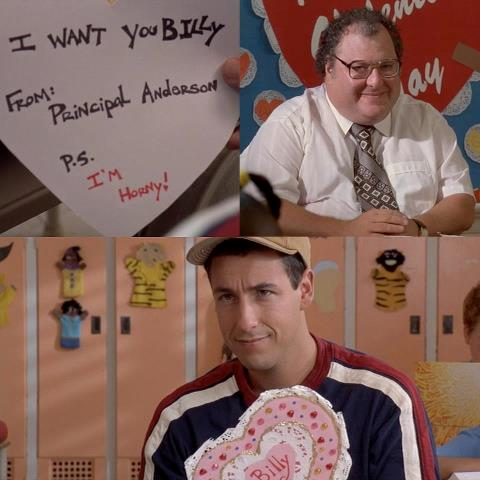 Valentine S Day Billy Madison Style Ahaha Never Gets Old Favorite Movie Quotes Billy Madison Funny Tv Quotes
