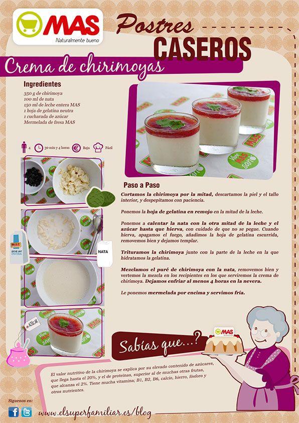 Una forma diferente de tomar esta exquisita fruta: ¡en crema! #InfoRecetas #Recetas