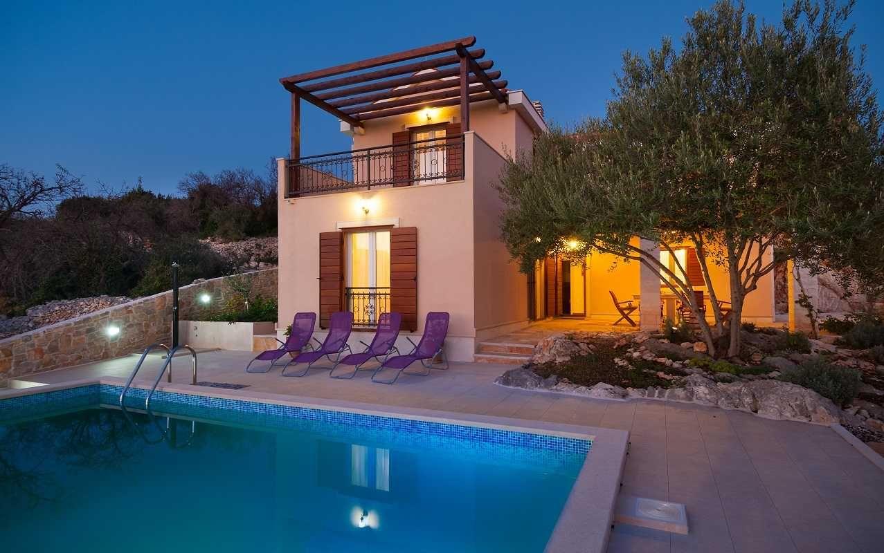 Family Villas Croatia Brac island Family Villa with pool