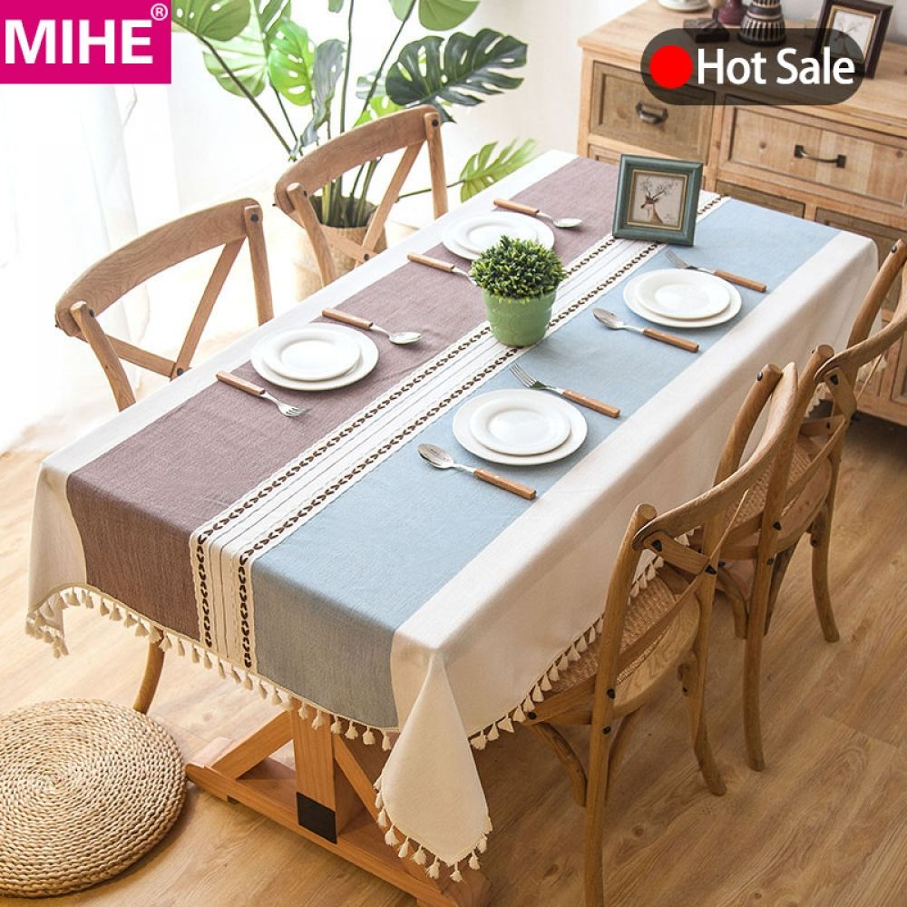 Modern Tassel Rectangle Tablecloth Price 20 90 Free Shipping Hashtag3 Dining Table Cloth Table Cloth Linen Tablecloth