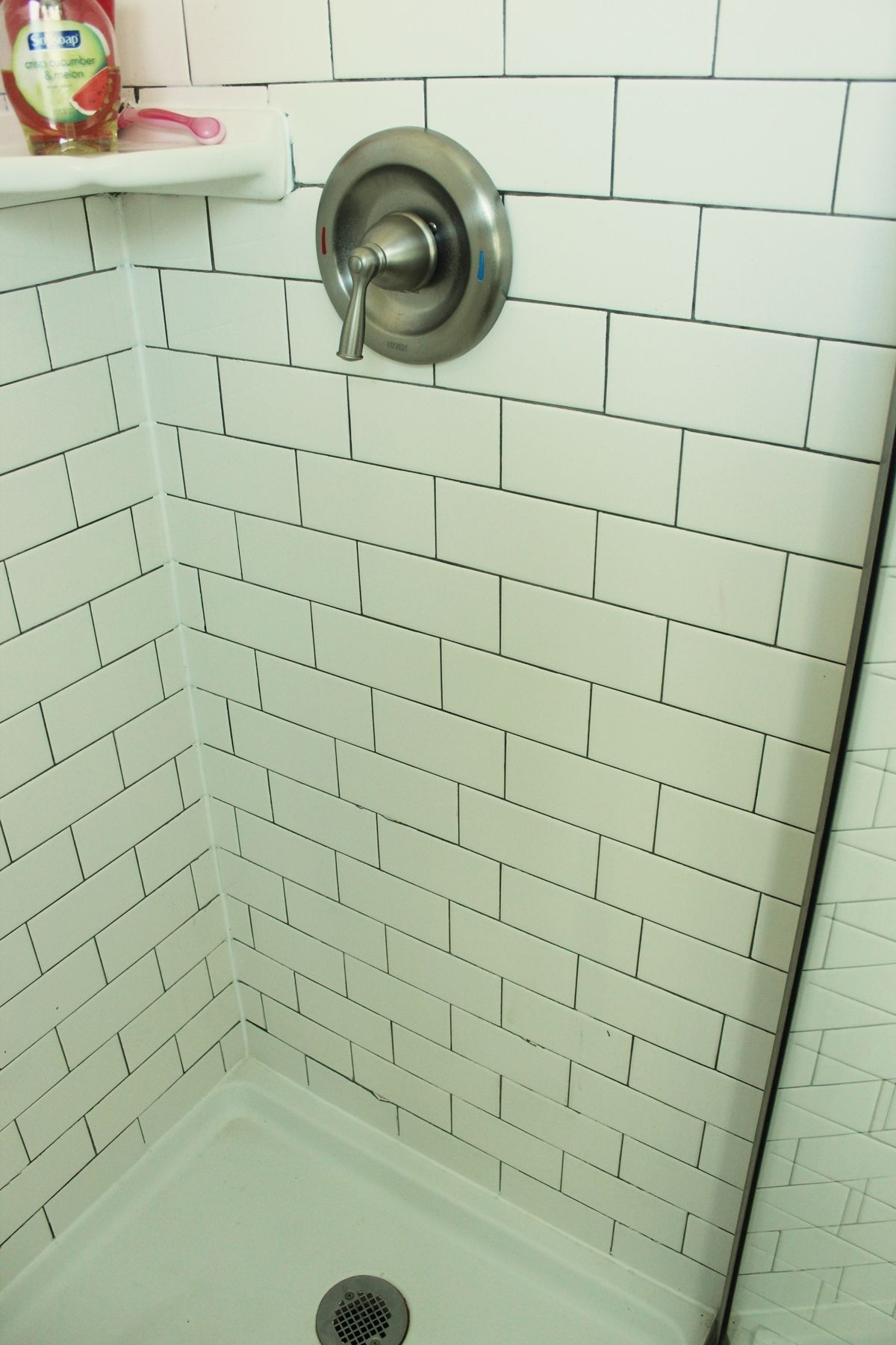 Image result for subway tile effect shower panels Walk