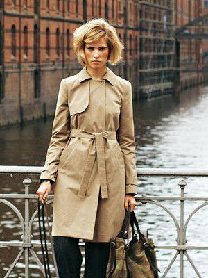 burda trenchcoat | Fashion | Pinterest | Selbermachen, Stricken und ...