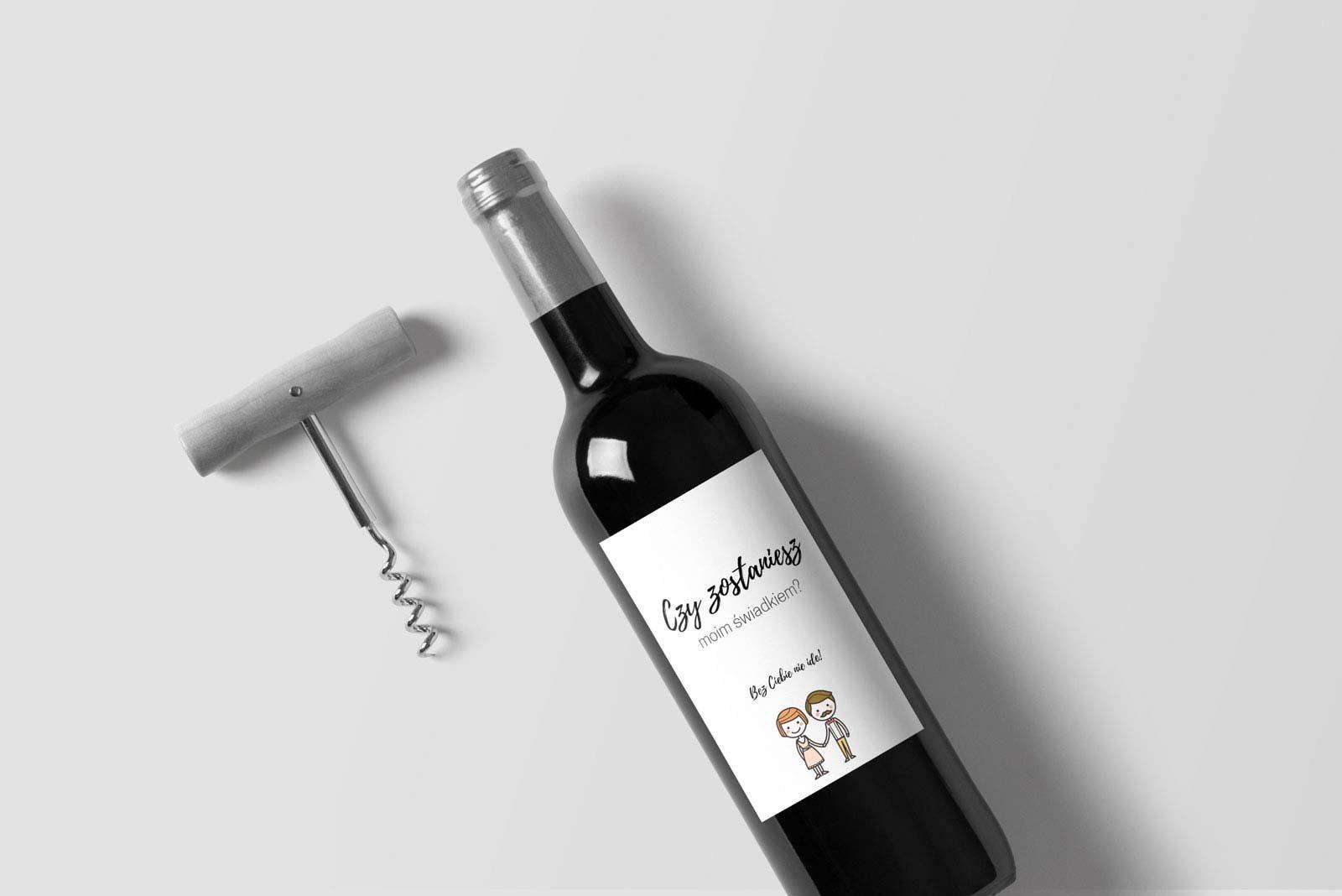 Czy Zostaniesz Moim Swiadkiem Etykiety Na Wino With Images Wino