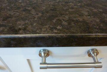 Granite Close Up Leathered Kodiak Brown Kitchen Ideas
