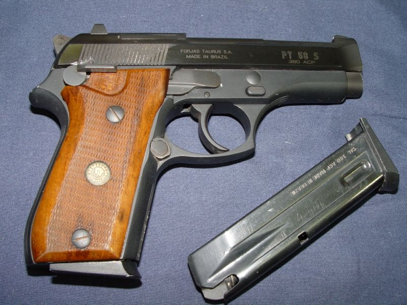 Taurus Model Pt 58 S 380 Acp Semi Auto Pistol Lk 380 Acp