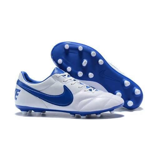 check out d492e fdc43 Popular Soccer Cleats Nike Premier II 2.0 FG White Blue