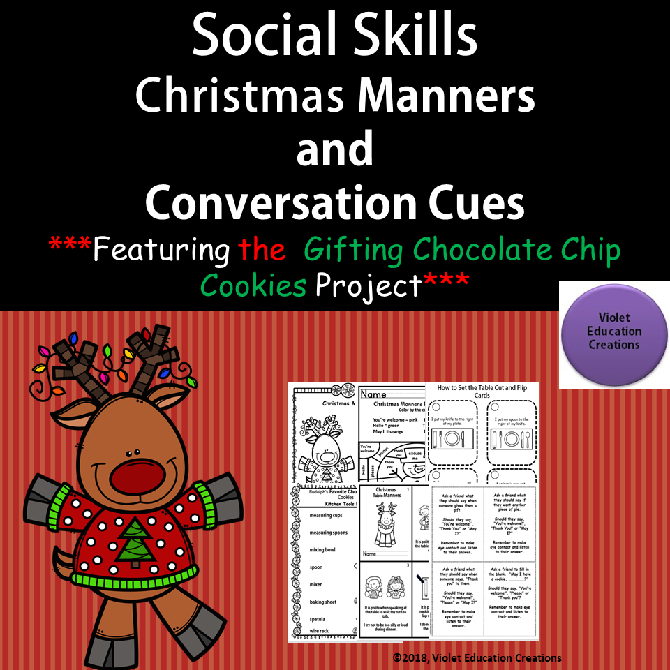 Christmas Manners And Conversation Social Skills