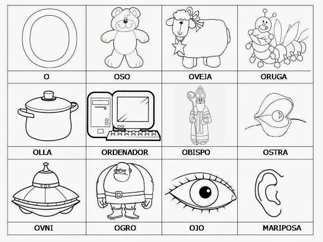 Las Vocales Para Colorear Cecis Pics Vocal E Lecto Escritura
