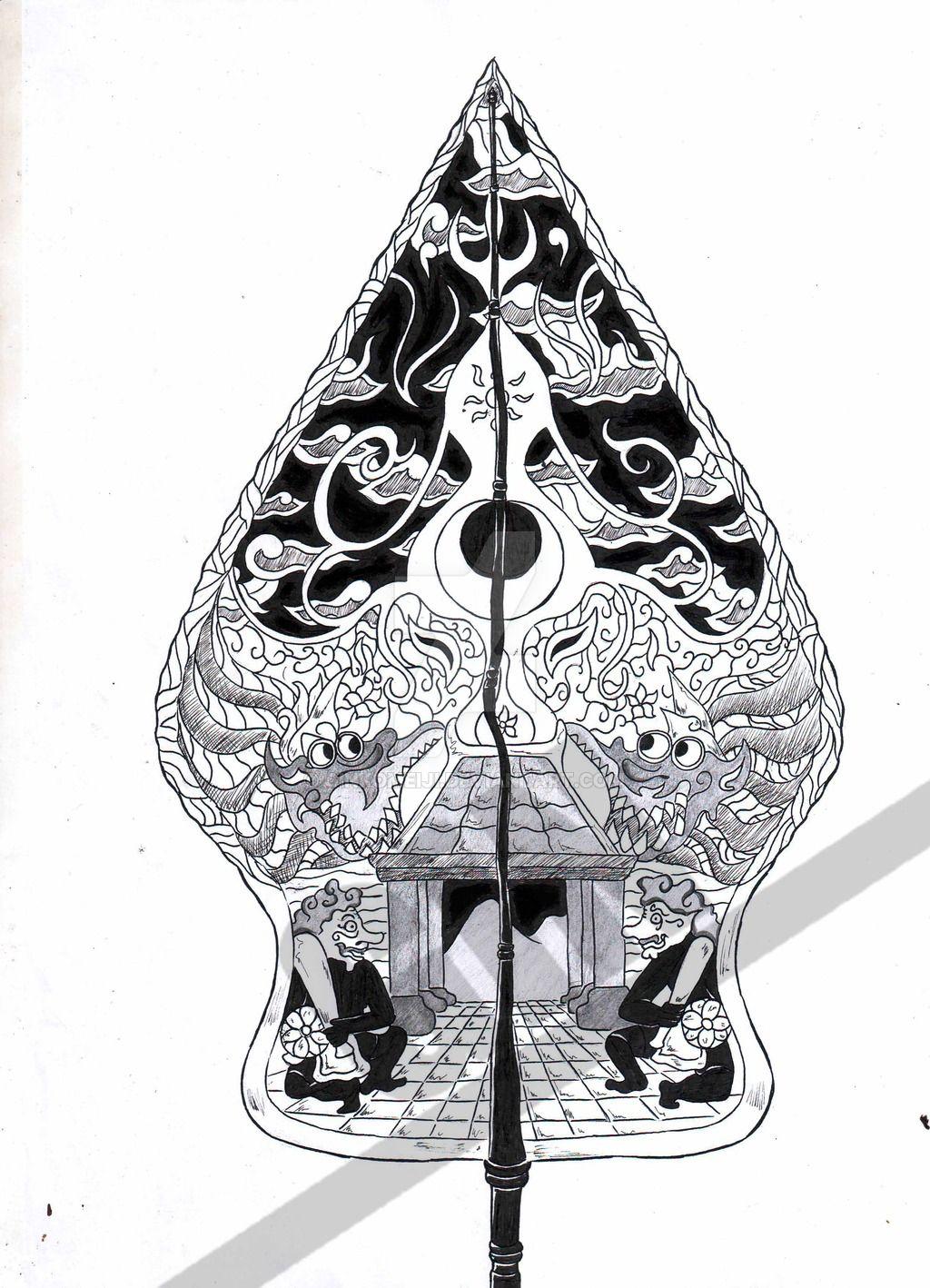 Gunungan Wayang Oleh Ginkomeiji