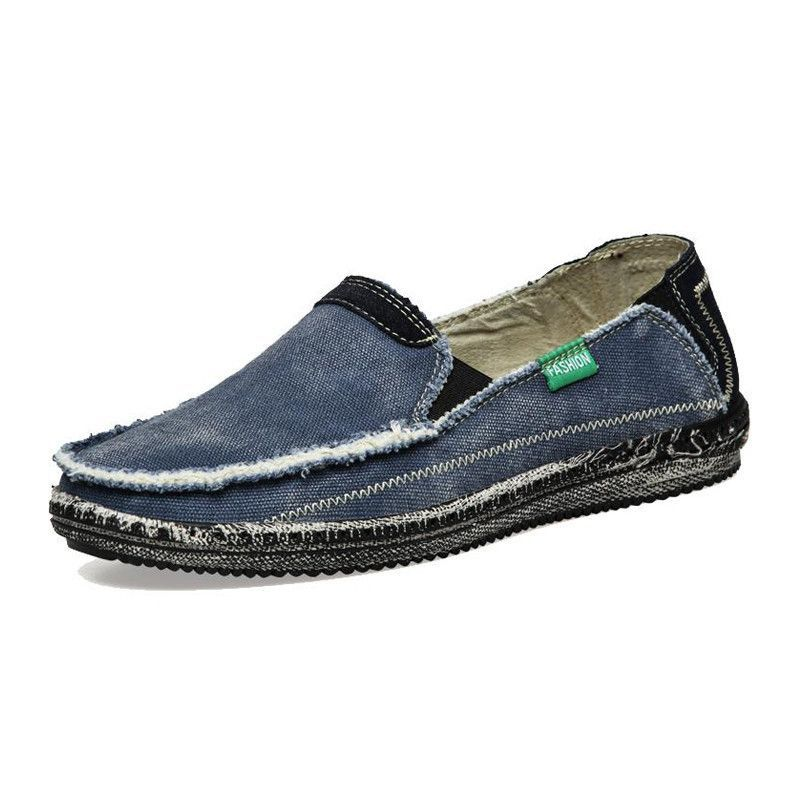 mens casual slip on loafer sneaker outdoor flat shoes
