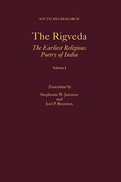 The Rigveda 3 Volume Set South Asia Research By Stephanie W Jamison Oxford University Press Poetic Techniques World History Book Military History Books