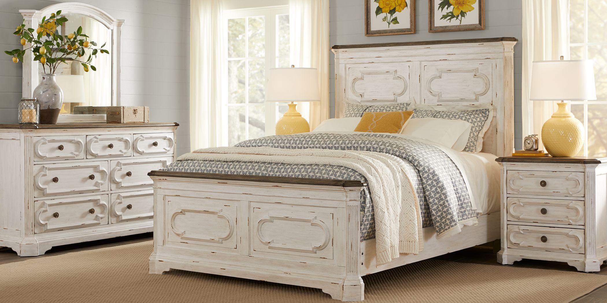 Lindenwood White 5 Pc Queen Panel Bedroom Rooms To Go Bedroom Bedroom Furniture Sets King Size Bedroom Sets