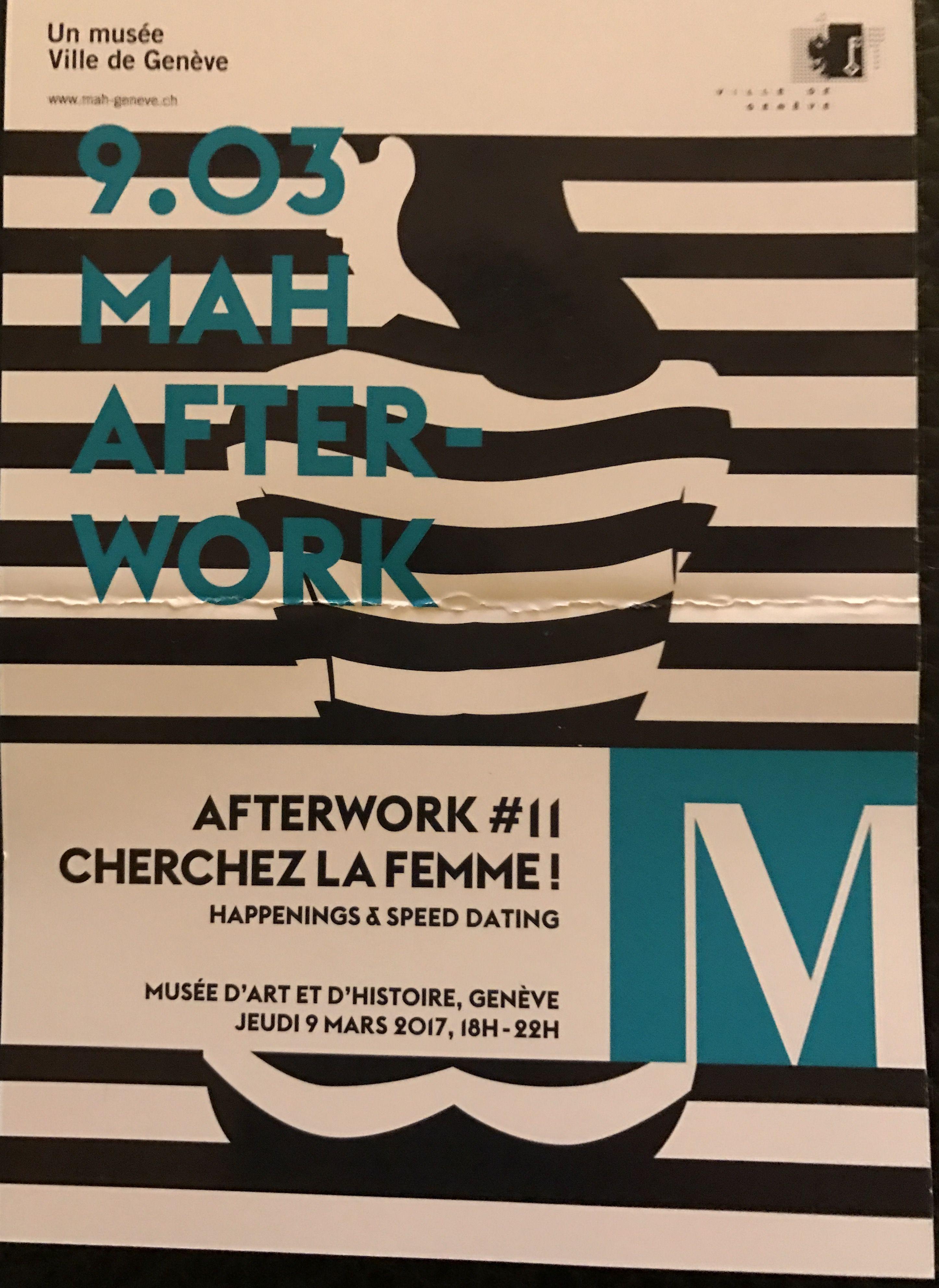 After work Musée d'Art et d'Histoire - jeudi 9 mars 2017