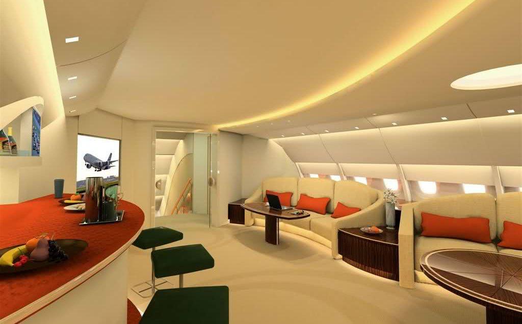 Boeing 380 du prince Alwalid ibn Talal