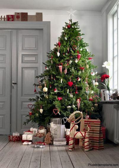 25 sapins de Noël joliment décorés pour s'inspirer ! | Arbre de