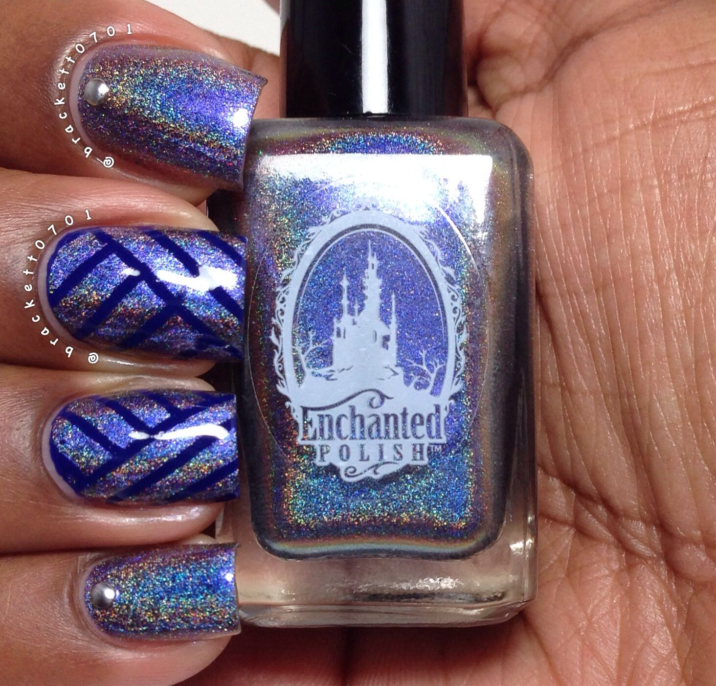 Striping Tape Nails Enchanted Polish Tme To Pretend and Opi Opi ...