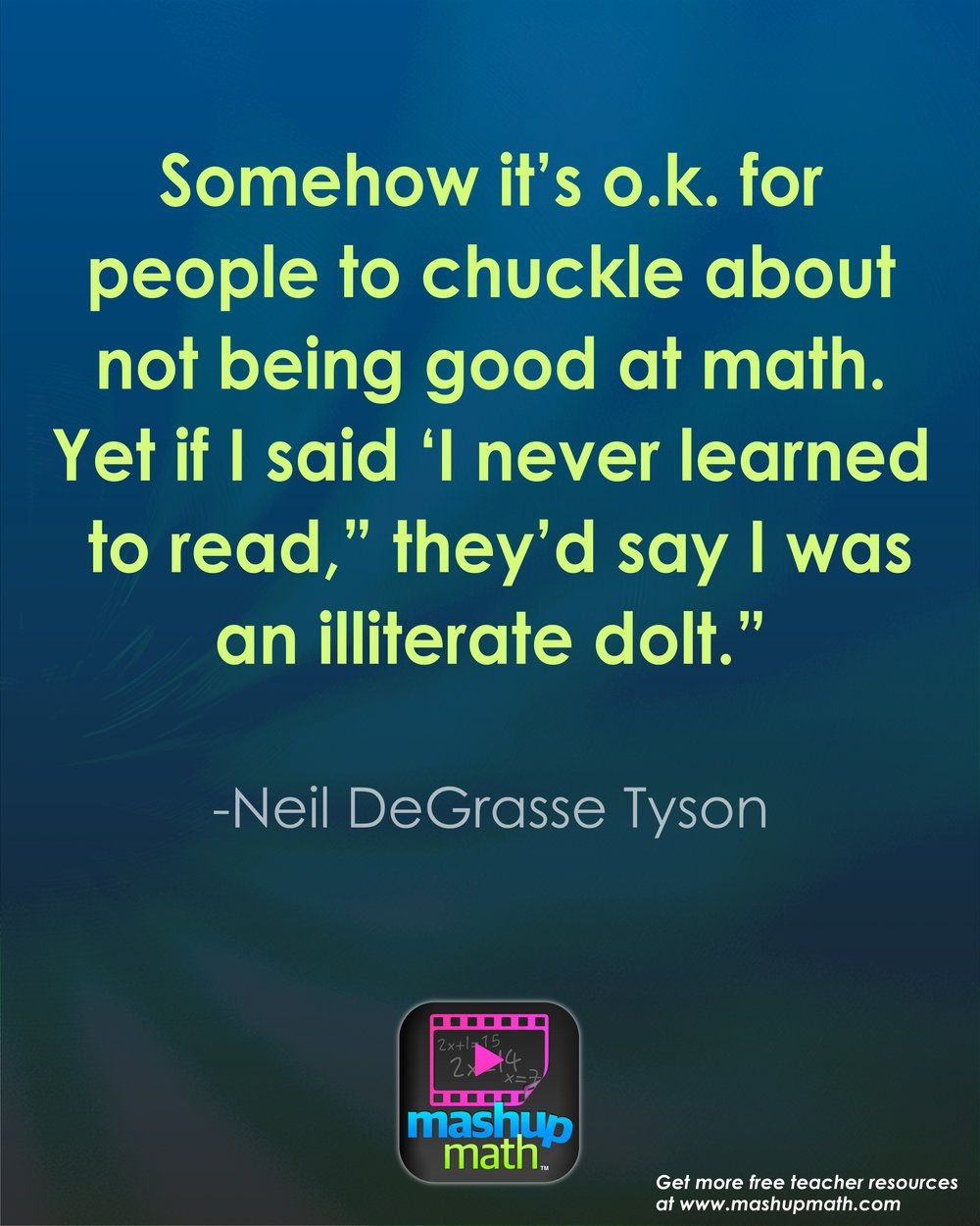 17 Groovy Math Quotes to Post in Your Classroom Funny