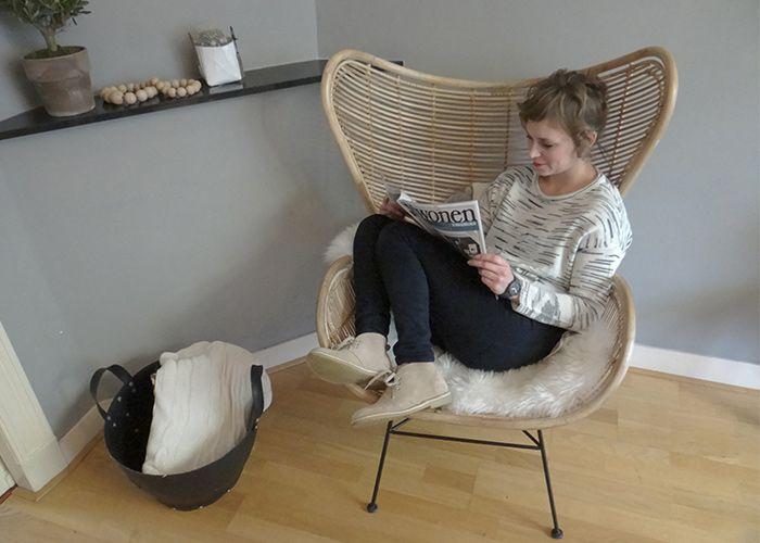 Egg Chair Rotan.Liefde Op Het Eerste Gezicht Egg Chair Hk Living Diy Stoel