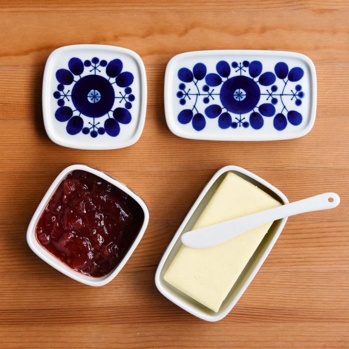 【白山陶器】【波佐見焼】【ブルーム】【バターケース】ナチュラル69引き出物食器内祝い白山陶器波佐見焼ブルームバターケースバターケース
