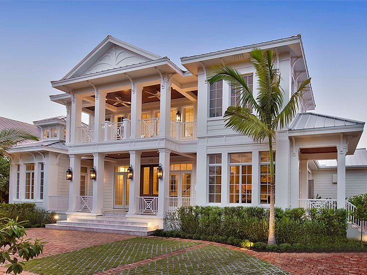 037H 0234: Southern Coastal House Plan More