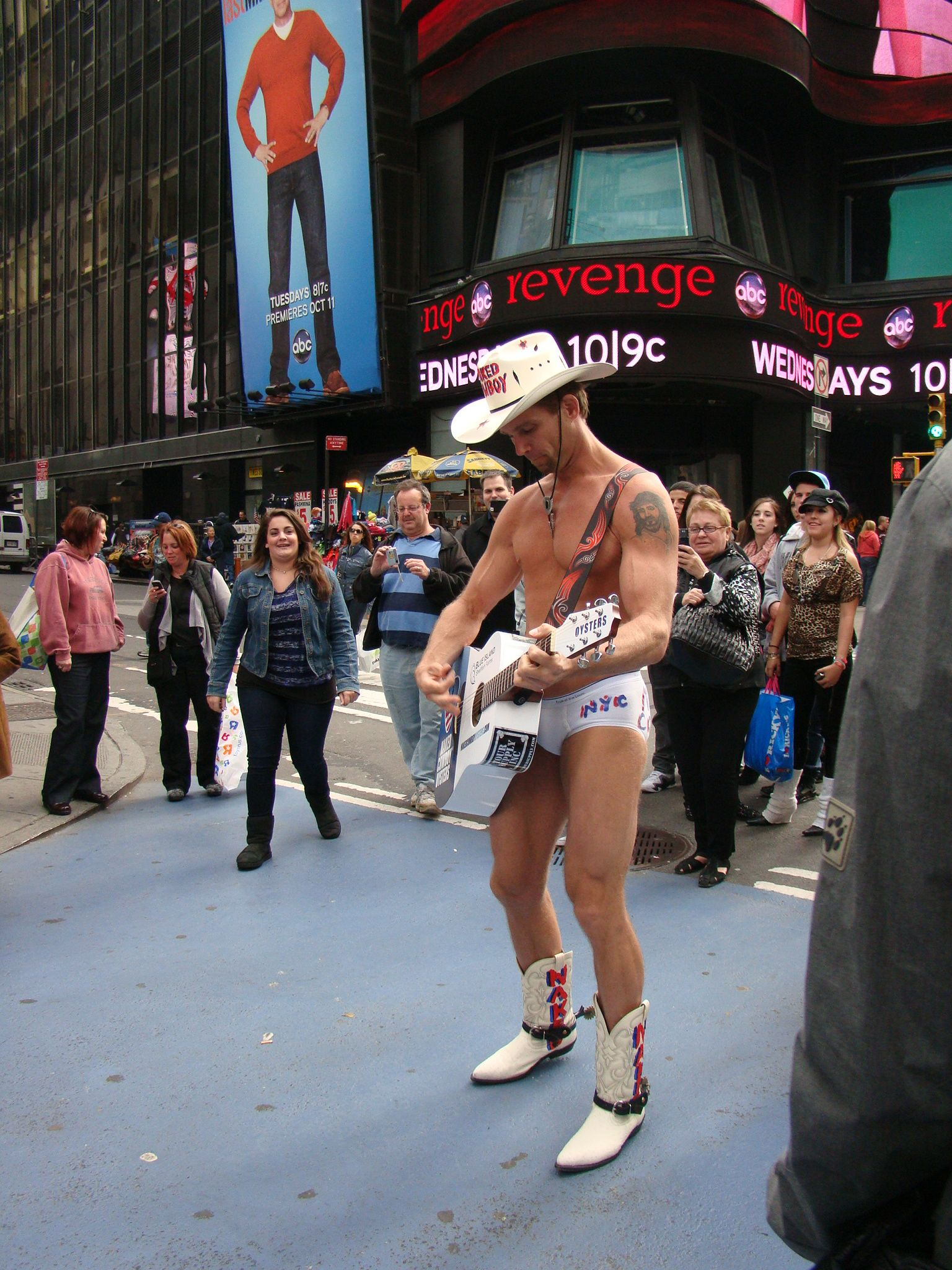 Joe Rogers: The semi-naked truth about Times Square - al.com